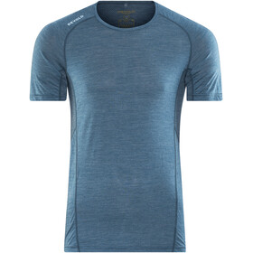 Devold Running t-shirt Heren blauw